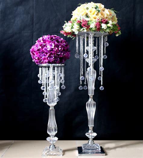 10pcs 70cm Acrylic Crystal Wedding Centerpiece Event