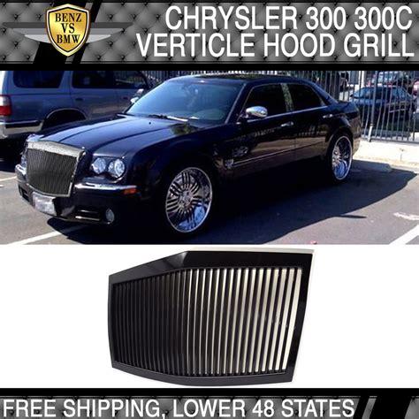chrysler 300 vs phantom 05 10 chrysler 300 300c black abs front grille rolls royce
