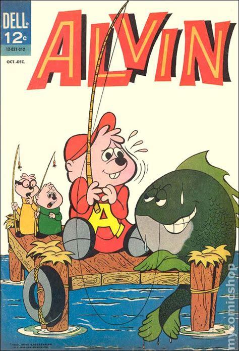 alvin  comic books