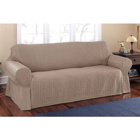 Loveseat Cover Walmart by Better Homes And Gardens Waterproof Non Slip Faux Suede