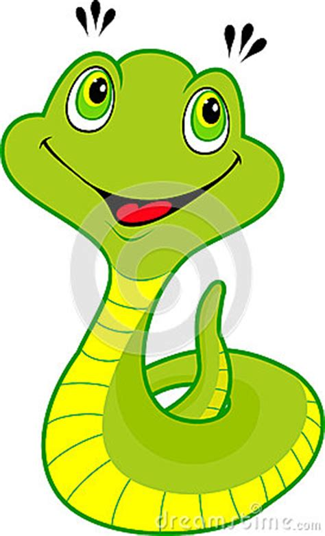 cute cartoon snake stock images image