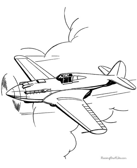 Coloring Airplane by Coloring Pages Of Airplanes For Airplane Coloring