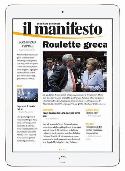 Newspaper Features App Digital Newsstand Leftist Newly