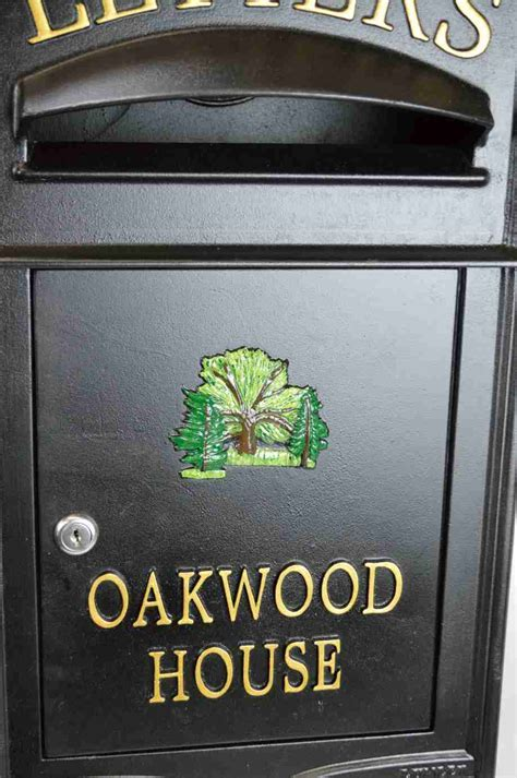 Letter box Surface Mounted The Royal   Lumley Designs