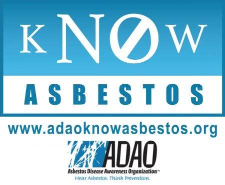 asbestos disease awareness organization adao asbestos