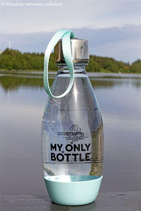 maistuis varmaan sullekin sodastream my only bottle