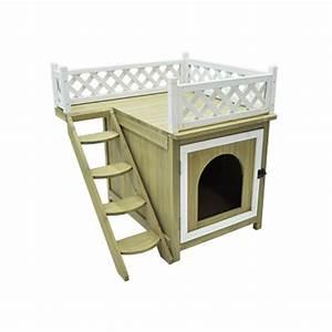 Maison Pour Chat Extérieur : vadigran niche maison de toilette chat penthouse java ~ Premium-room.com Idées de Décoration