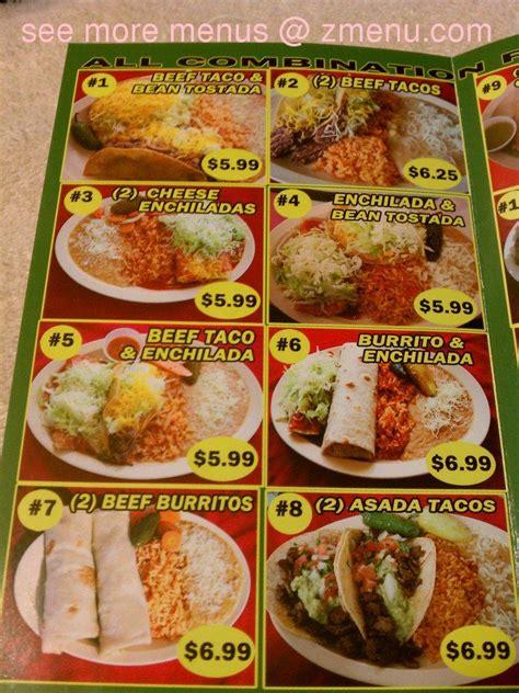 menu  alberts mexican food restaurant la puente