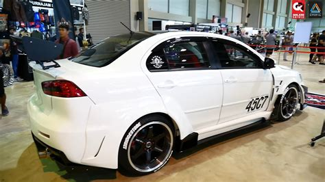 mitsubishi lancer gt wide body  chemical guys borneo