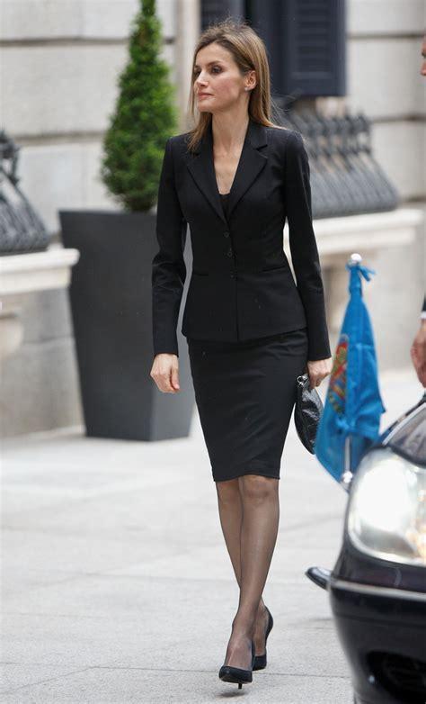 Queen Letizia of Spain Skirt Suit   Queen Letizia of Spain