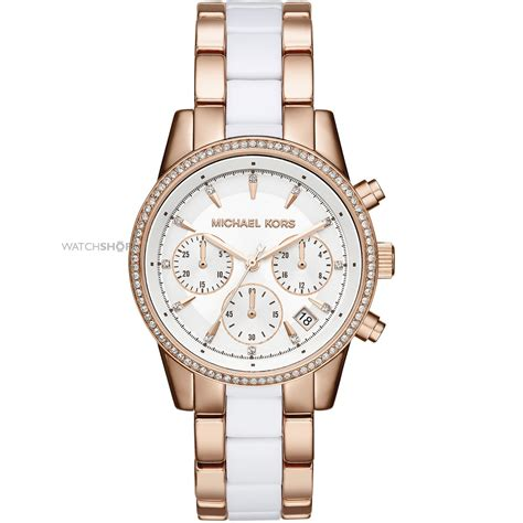 Ladies' Michael Kors Ritz Chronograph Watch (mk6324. Layer Chains. Snail Chains. Goold Chains. Ruby Stone Chains. Guardian Angel Chains. Arabic Name Chains. Real Hip Hop Chains. 2.9 Mm Chains