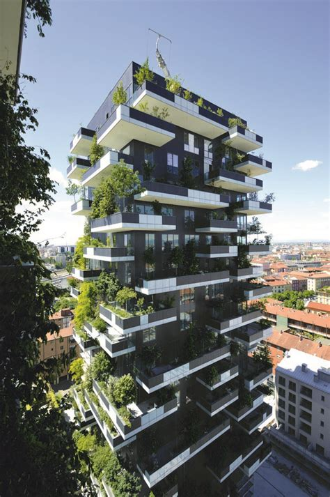 bosco verticale  tall building worldwide  architect