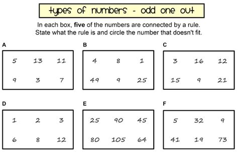 types  numbers worksheet promotiontablecovers