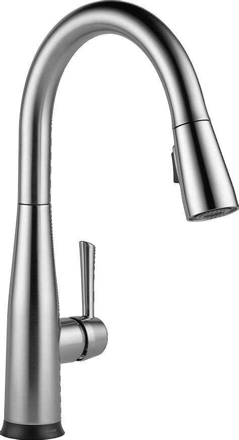 kitchen sink faucet size moen one touch pull out kitchen faucet