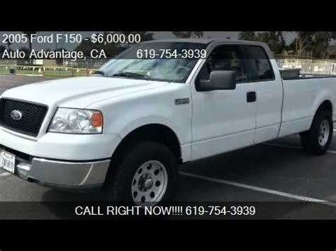 2005 Ford F150 XLT Extended Cab 8 Ft Bed for sale in San
