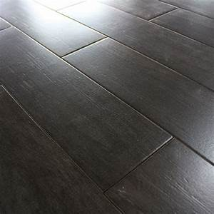 Carrelage sol aspect parquet naturae ebano imitation for Carrelage aspect parquet
