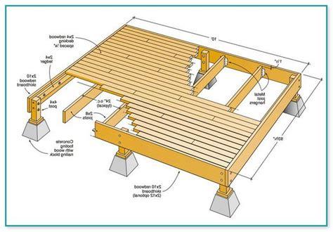 deck plans com 12 x 12 deck plans