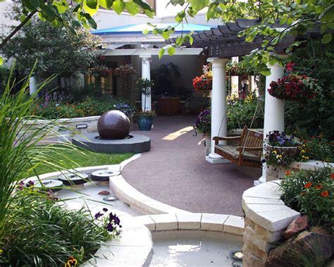the healing garden rooftop retreat a hospital s healing garden land