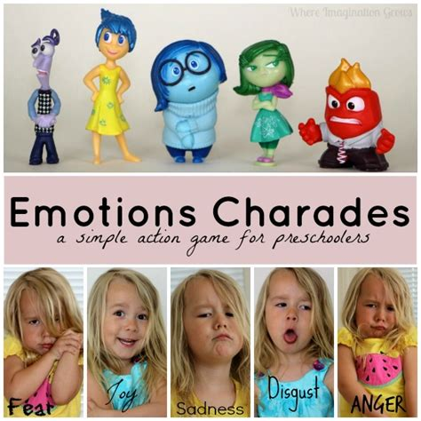emotions charades teaching emotions through play where 188 | emotions charades feeling learning game preschool 1