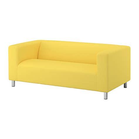 IKEA Klippan Loveseat Sofa SLIPCOVER Cover VISSLE YELLOW