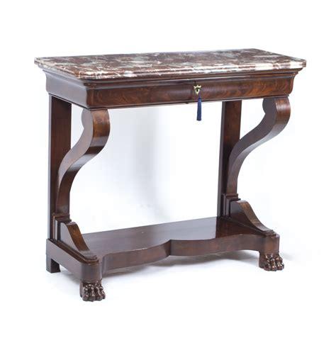 antique mahogany console table regent antiques console tables antique charles 4112