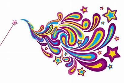 Wand Magic Clipart Magical Wands Fairy Wish