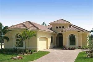 Mediterranean Home Design: House Plan #133-1029