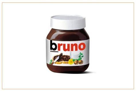 personnalisation pot de nutella les pots de nutella affichent votre pr 233 nom sur leurs 233 tiquettes
