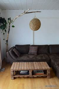Lampe En Palette : bois et palettes id es d co originales partir de mat riaux de r cup ration ~ Voncanada.com Idées de Décoration
