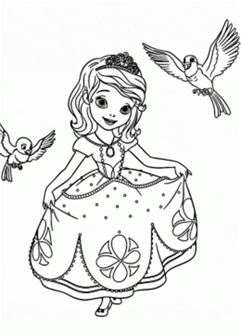 princess coloring pages  girls big collection