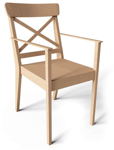 chaise avec accoudoir ikea cad and bim object ingolf chair with armrest ikea