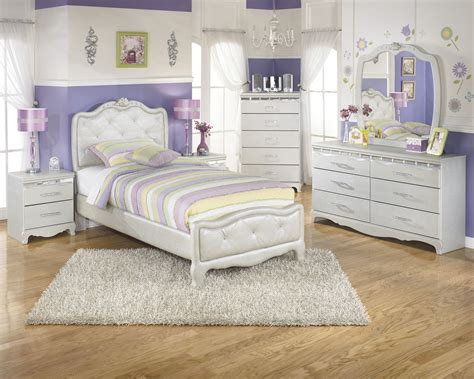 ashley furniture zarollina pc kids bedroom set  twin bed  classy home