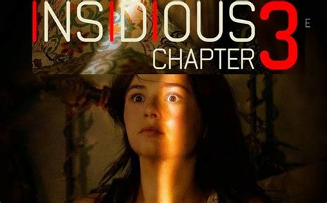 Insidious Chapter 3 Movie (2015) New Poster & Sneak Peek ...