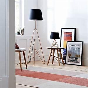 Albus floor lamp floor lamp and scandinavian for Copper floor lamp john lewis