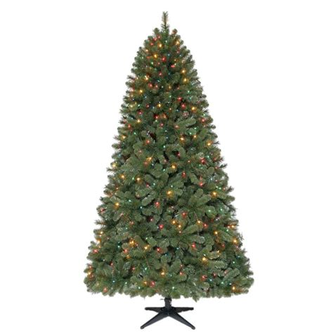 reviews home accent welsley spruce christmas tree home accents ornaments decor 7 5 ft wesley mixed spruce set artificial