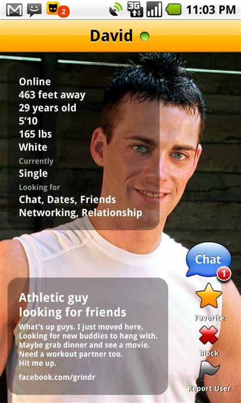 grindr for android entirely chat application quot grindr quot now available