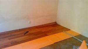 Pokládka podlahy na parkety