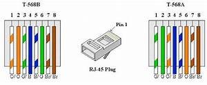 Cat5e Ethernet Wiring Diagram