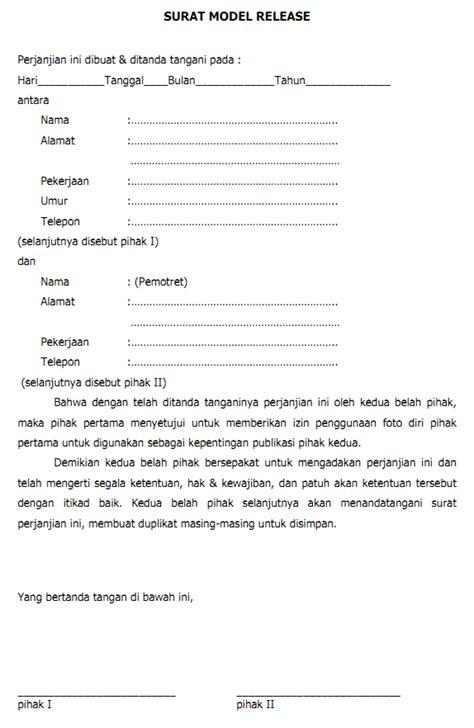 Contoh Notulen Rapat Perusahaan Swasta by Surat Model Release