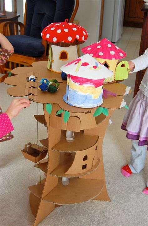 cool homemade cardboard craft ideas