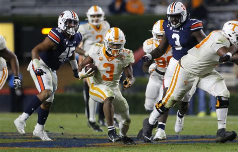 tennessee football vols dont move  week  sec power