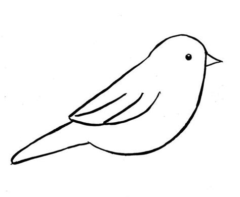17 Best Ideas About Bird Outline On Pinterest