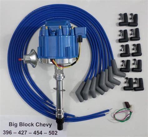 Bbc Chevy Blue Hei Distributor Universal
