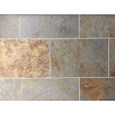 tile flooring rustic brazilian rustic multicolour natural slate flooring tiles 600x400 natural stone tiles mrs