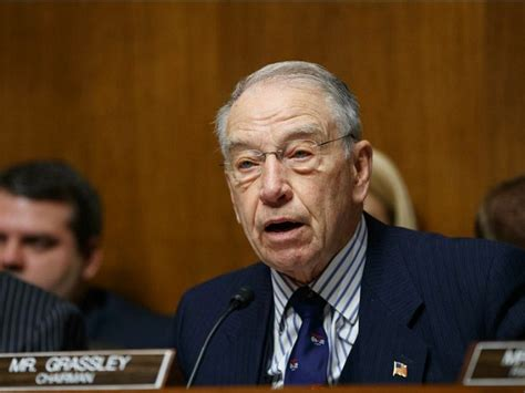 Chuck Grassley Asks How Russian Lawyer Who Met With Trump