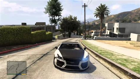 Grand Theft Auto 5 Audi R8 Tuning Car Driving Gameplay