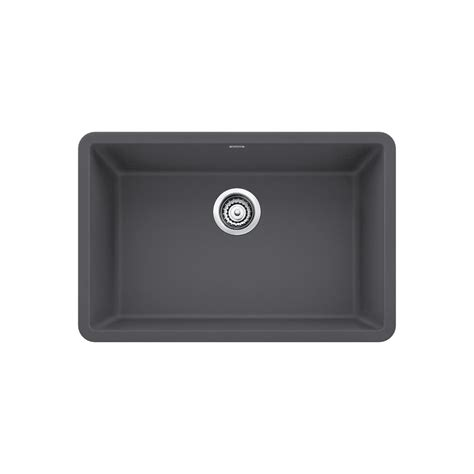 27 undermount kitchen sink blanco precis undermount granite composite 27 in single 3847