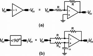 Building Blocks Of The Phase Shifter Circuit   A  Inverter Stage   B