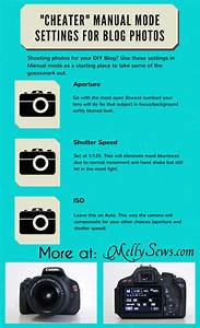 Easy Camera Settings for Shooting in Manual - Tech Tips - Melly Sews