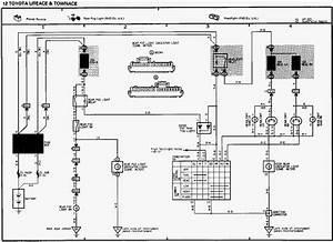 Toyota Hiace Headhight Switch Wiring Diagram